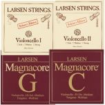 Encordoamento Violoncelo Larsen Soloist e Magnacore