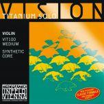 Encordoamento Violino Thomastik Vision Titanium Solo VIT100