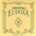 Encordoamento Violino Pirastro Eudoxa média (Mi com bolinha)