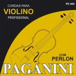 Encordoamento Violino Paganini Perlon PE980