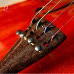 Estandarte Violoncelo Tamarindo Round Micro Afinador Marsale