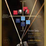 Encordoamento Violino Larsen Original Média Mi E aço