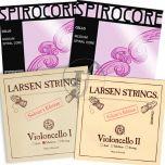 Encordoamento Violoncelo Montado Larsen Soloist com Spirocore Tungstênio