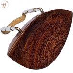 Queixeira Violino Tamarindo Extra Flat 3/4 e 4/4 Antoni Marsale