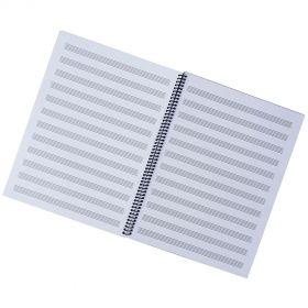 Caderno de Música Ricordi Grande