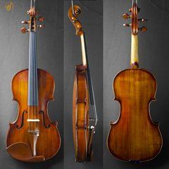 USADO - Violino Daniel M M Silva Luthier 2017 cópia Guarneri 1730