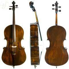 Violoncelo Rolim Orquestra Montagnana Envelhecido 4/4