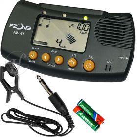 Afinador Digital Metrônomo Diapasão Fzone FMT-60