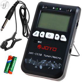Afinador Digital Metrônomo Diapasão Joyo JMT-555B