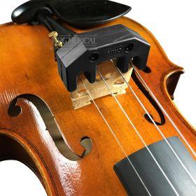 Surdina Violino / Viola Artino Metal Coberto com Borracha