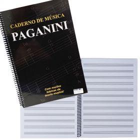 Caderno de Música Paganini Grande