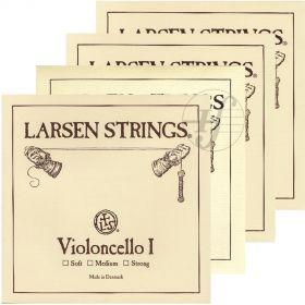 Encordoamento Violoncelo Larsen Original Strings 4/4 strong