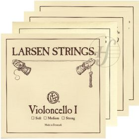 Encordoamento Violoncelo Larsen Original Strings 4/4 média
