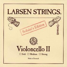 Corda Violoncelo Larsen Soloist Edition 2ª Re D média