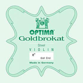 Corda Violino Optima Goldbrokat 1ª Mi E 4/4