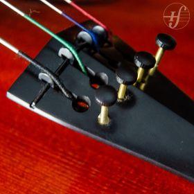 Estandarte Violino Ébano Hill com Micro Afinador 4/4 Antoni Marsale