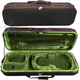 Estojo Case Viola de Arco Antoni Marsale XYA3011 Retangular Verde