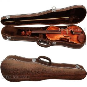 Estojo Violino Leilo Case Clássico Madeira