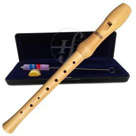 Flauta Doce Soprano Germânica Madeira CSR Wood