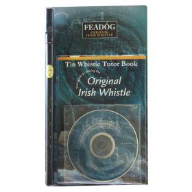 Flauta Irlandesa Feadóg Re D Preta (Kit Livro Tutorial e CD)