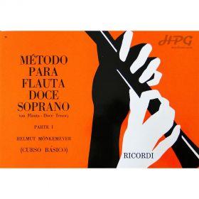 Método Flauta Doce Soprano Helmut Monkemeyer