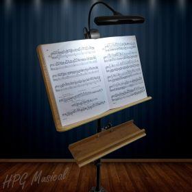 Luminária de Partitura On Stage Orchestra Light LED510 10 LEDs
