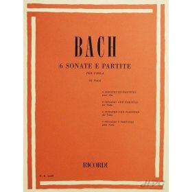 Método Viola de Arco Bach 6 Sonatas e Partituras
