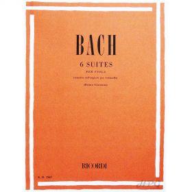 Método Viola de Arco Bach 6 Suites