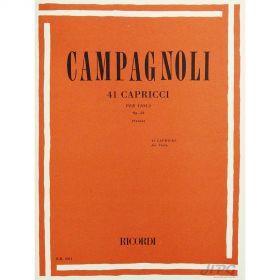 Método Viola de Arco Campagnoli 41 Caprichos Opus 22