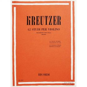 Método Viola de Arco Kreutzer 42 Estudos