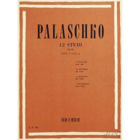Método Viola de Arco Palaschko 12 Estudos Opus 62