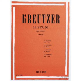 Método Violino Kreutzer 19 Estudos