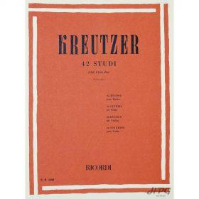 Método Violino Kreutzer 42 Estudos