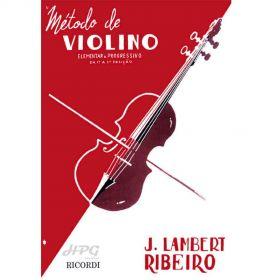 Método de Violino J Lambert Ribeiro