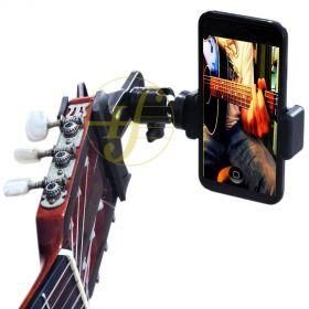 Suporte de Celular Guitar Selfie MP Strings PGS300 Violão Guitarra Ukulele