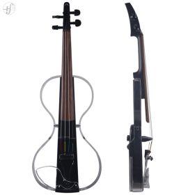 Violino Elétrico Aurora Silhouette 4 Cordas com LED