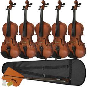 Violino Tarttan Série 100 Natural (CAIXA COM 5)