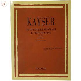 Método Violino Kayser 36 Studi Elementari e Progressivi Op.20