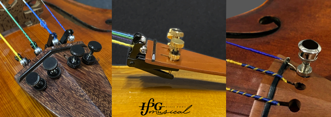 Micro Afinadores para Violino